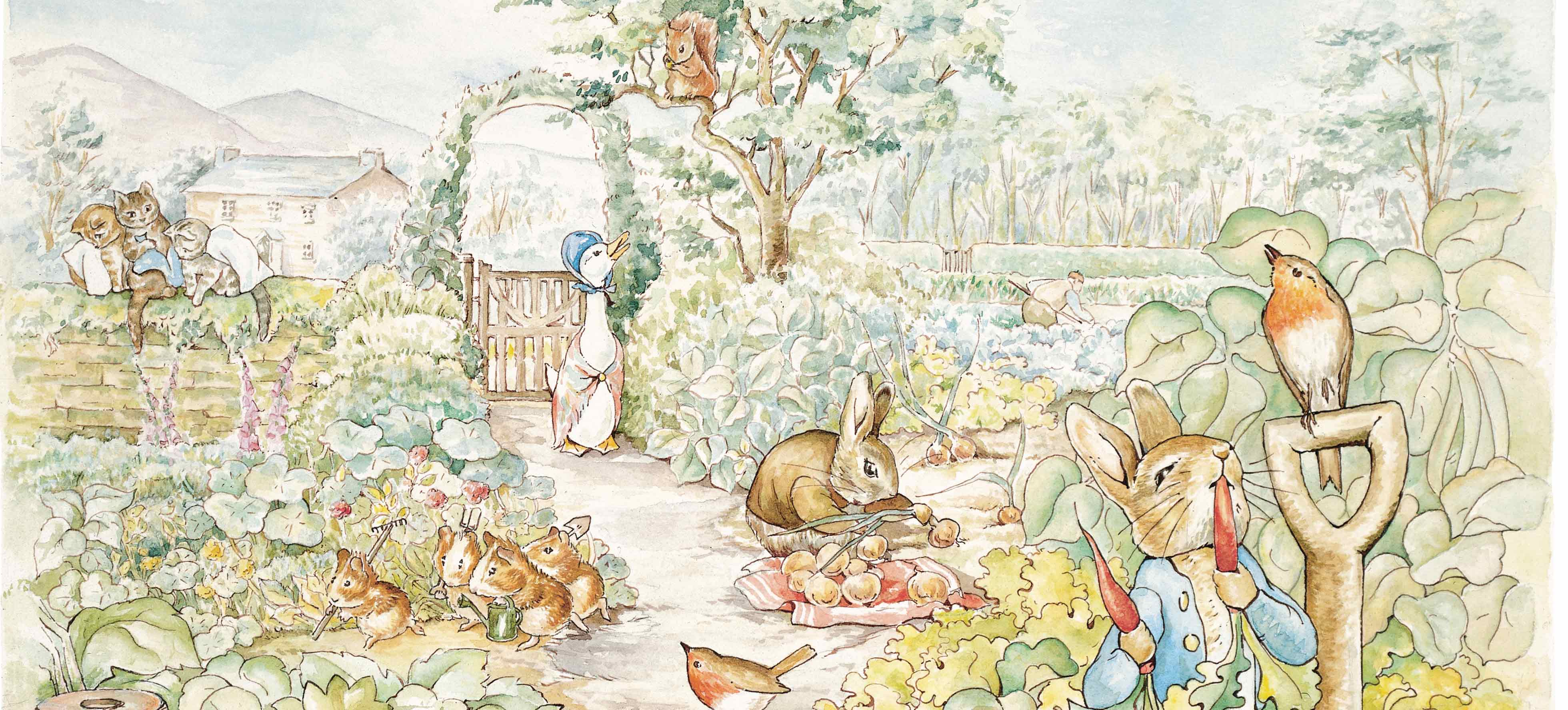 Header Image - Still the best selling app!! Peter Rabbit Free Version 4.0